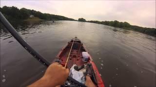 Jackson Big Tuna Kayak, Mississippi River, and some friends...