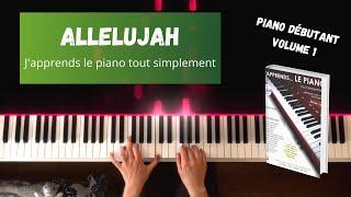 Allelujah - J'apprends le piano tout simplement - Volume 1