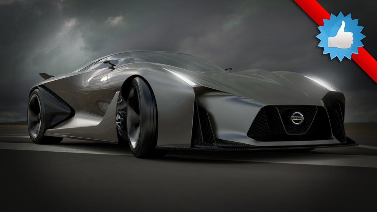 Nissan Concept Vision Gran Turismo Future Sports Cars YouTube - Cool cars 2020