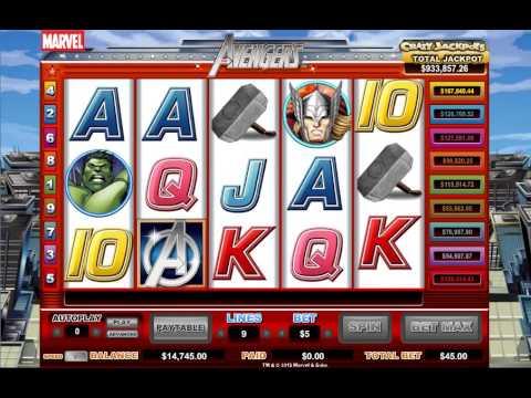 Видео Игровой автомат iron man 2