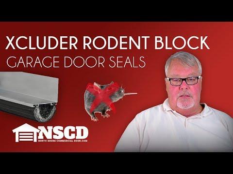 Xcluder Rodent Block Garage Door Seals