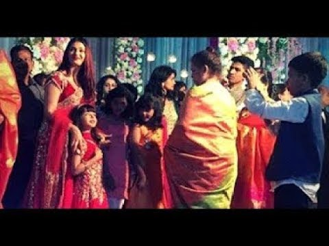 Aishwarya Rai with Daughter AARADHYA Bachchan at A Cousins Wedding Superb Video    UNSEEN