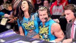 Dolph Ziggler and Aj Lee (Memories) in WWE 2015