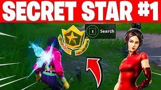 WEEK 1 SECRET BATTLE STAR LOCATION - Fortnite Find the Secret Battle Star in Loading Screen 1