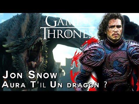 GAME OF THRONES - Théories: JON SNOW CHEVAUCHERA-T-IL UN DRAGON?