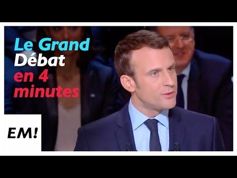Le Grand Débat en 4 minutes |Emmanuel Macron
