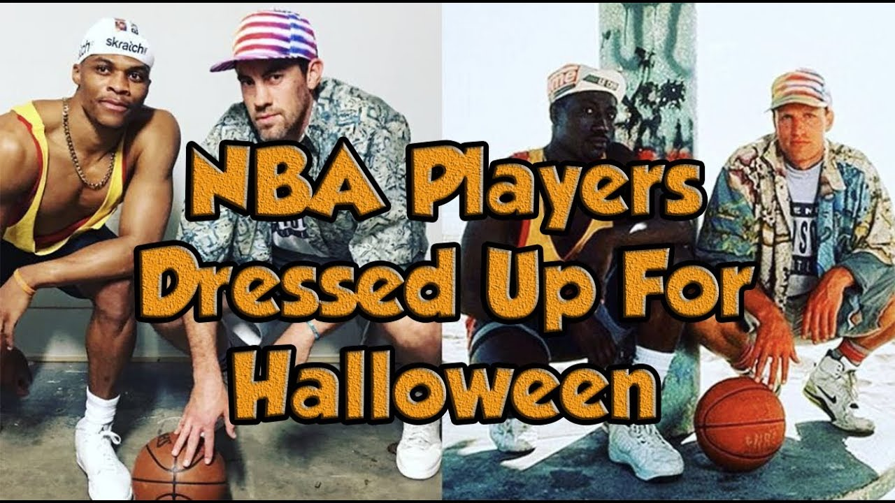 must see) nba players dressed up for halloween - youtube