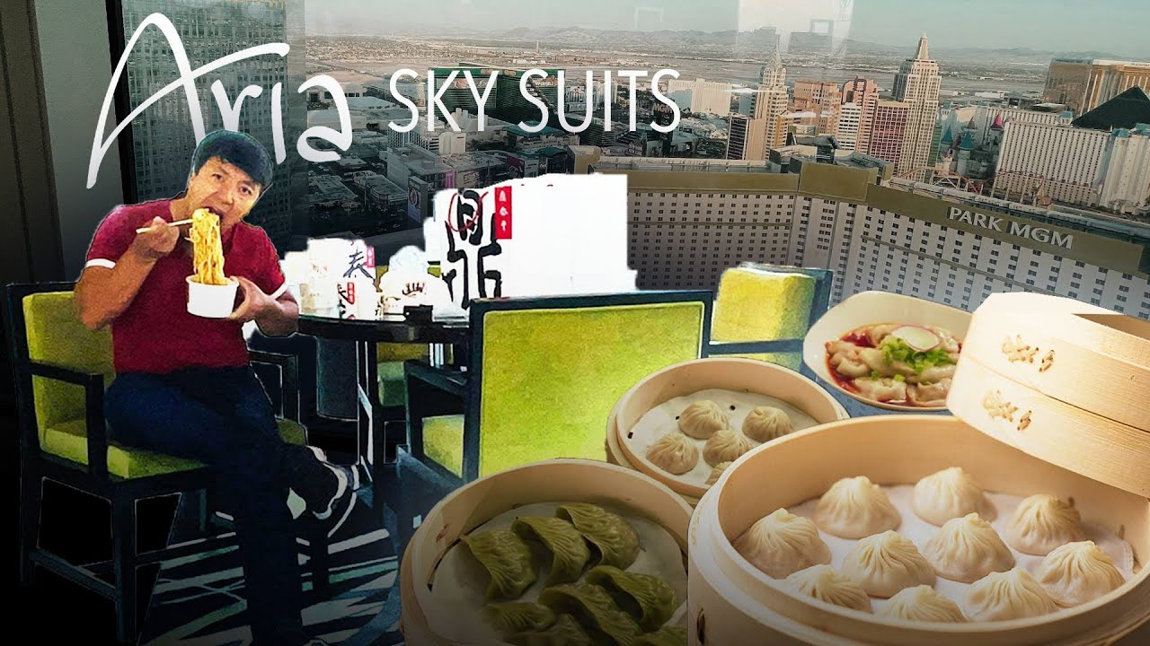 Aria SKY SUITES Review & Trying LAS VEGAS Din Tai Fung!