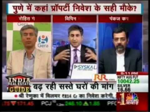CNBC Awaaz India Real Estate Guide 29 July 2017 ,Mr  Rohit Gera( MD, Gera Developers)