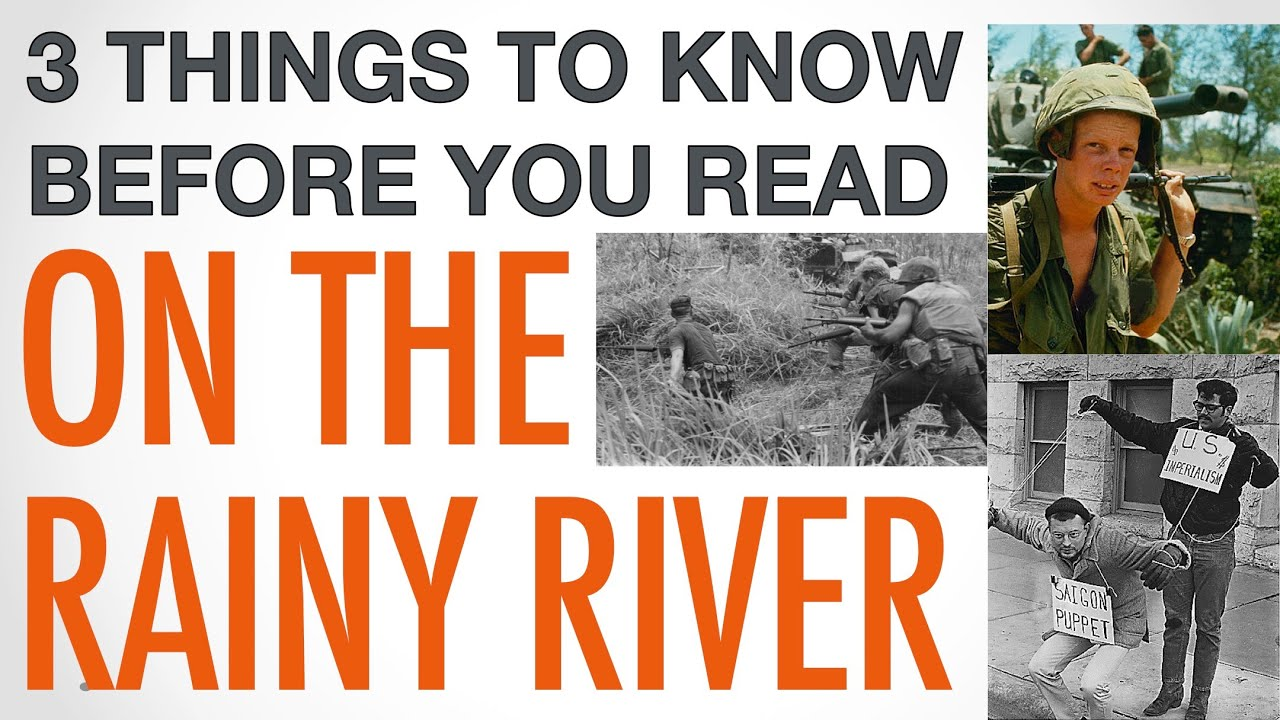 an analysis of moral confusion in on the rainy river by tim obrien Tim o'brien's personal short story, on the rainy river, evokes an inner struggle to serve, or to run to canada o'brien shamefully expresses his own horrific tale of compromise of the draft in the summer of '68.