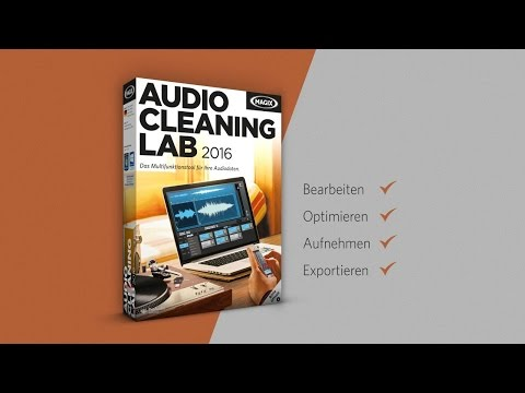 MAGIX Audio Cleaning Lab 2016 (DE) - Audiograbber