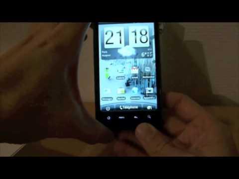 Test HTC Desire HD partie 1/2