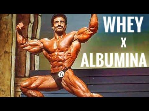 WHEY X ALBUMINA : QUEM GANHA ? (leia Descrição Video)
