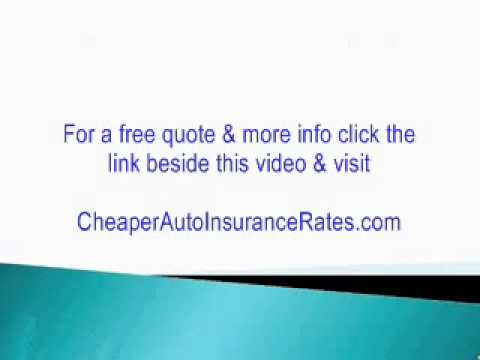 (Auto Insurance Vehicle Ratings) Finding CHEAP Car Insurance