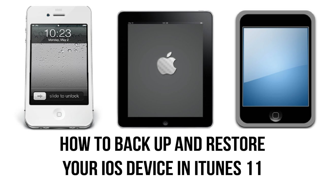 how to back up iphone to itunes itunes 11 tutorial how to back up your iphone or 3342