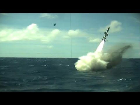 Navy Attack Submarine Strikes Decommissioned Ship with Anti-Ship Missile, Torpedo