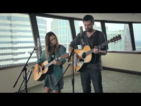 "Kasey Chambers and Shane Nicholson perform ""Adam & Eve"" during the 2012 Americana Music Festival"