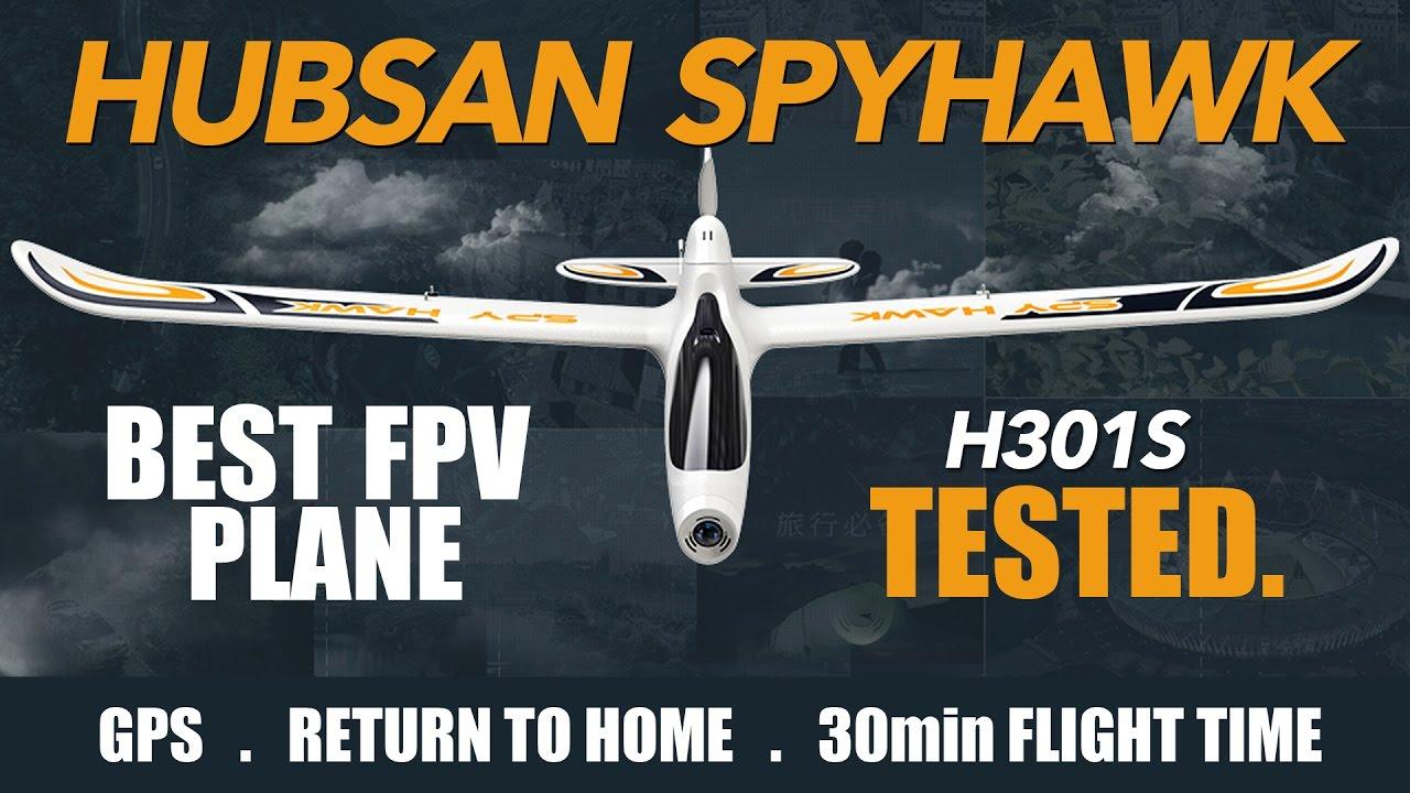 Hubsan Spyhawk H301S - FULL REVIEW & Flight Test