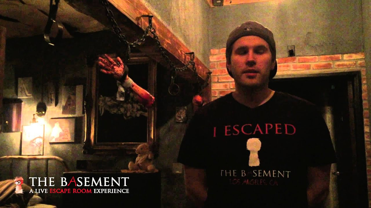 What is an escape room escape game youtube for The basement a live escape room experience events