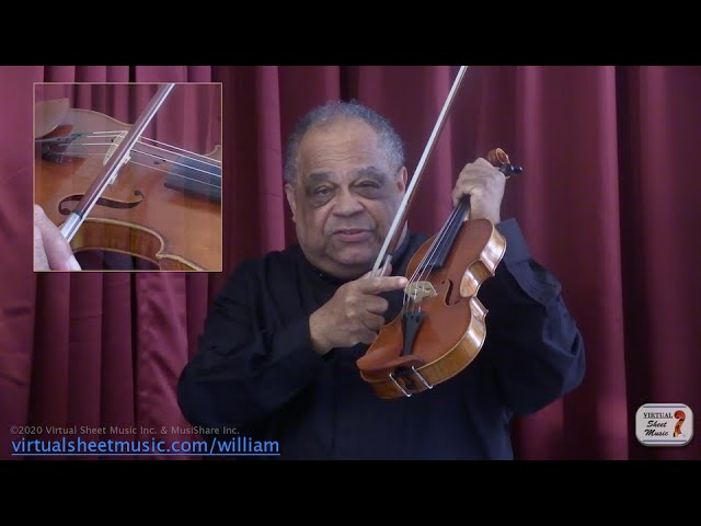 Making Sound With The Bow - Violin Lesson