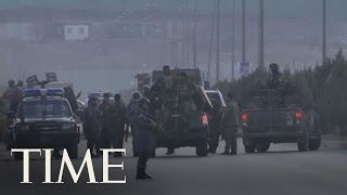 At Least 38 People Are Dead After Twin Bombings In Kabul   TIME