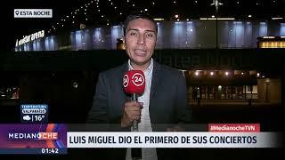 Luis Miguel encantó a sus fanáticos chilenos a pesar de dificultades de sonido
