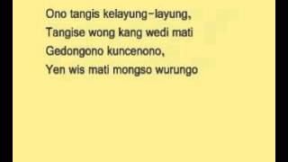 Download LIRIK Kelayung Layung Kereto Jowo   Religi Bugie
