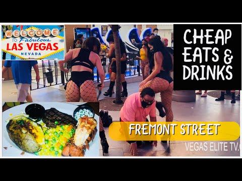 Ultimate Cheap Eat's & Drinks @ Fremont Street Vegas + $1.99 Margarita
