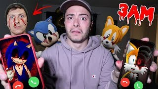 CALLING SONIC.EXE AND TAILS.EXE ON FACETIME AT 3 AM!! THEY FOUGHT
