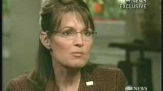 Sarah Palin ABC Interview With Charlie Gibson Part 2