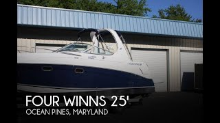 Used 2004 Four Winns 268 Vista Cruiser for sale in Ocean City, Maryland