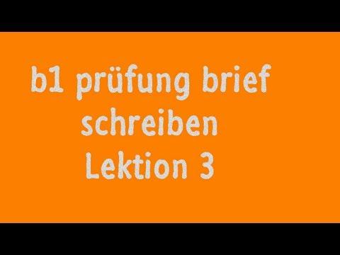 Brief Schreiben Deutsch B1 On The App Store 1