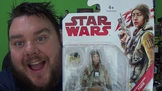 Star Wars The Last Jedi Resistance Gunner Paige Tico 3.75 Inch Action Figure Review