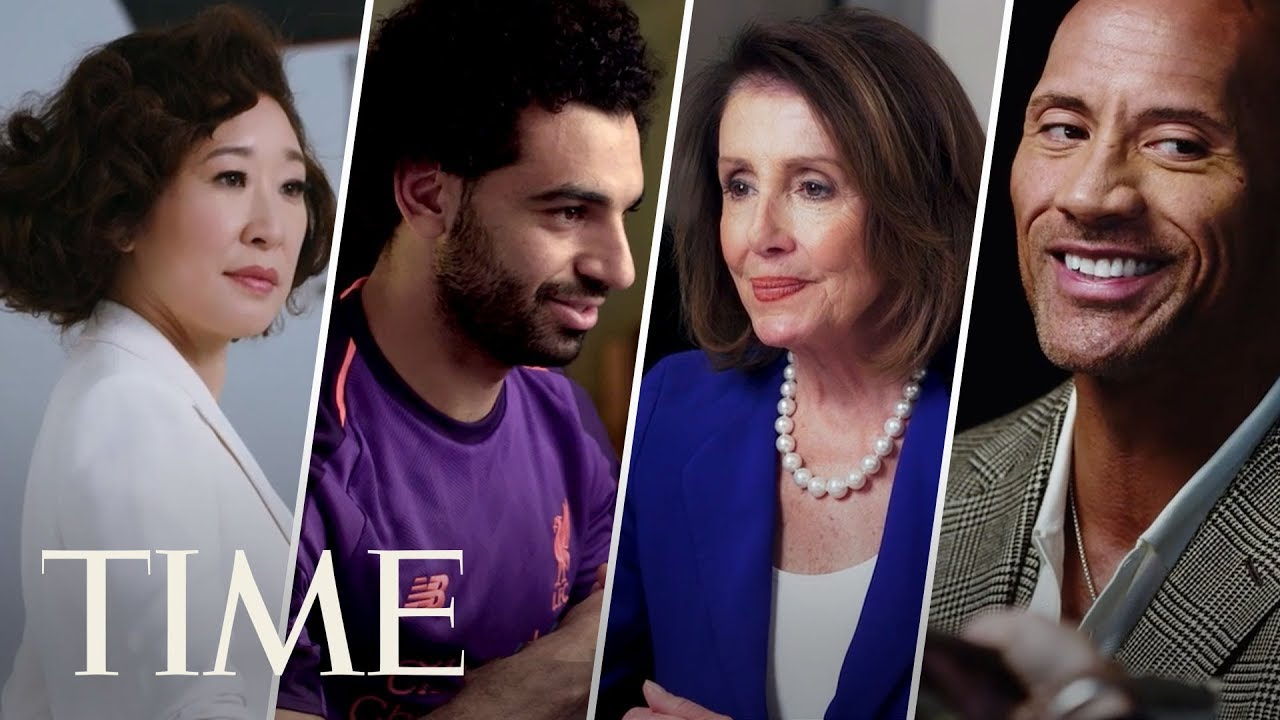 Inside TIME 100 Cover Shoots: Dwayne Johnson, Mohamed Salah, Sandra Oh, Nancy Pelosi & More   TI