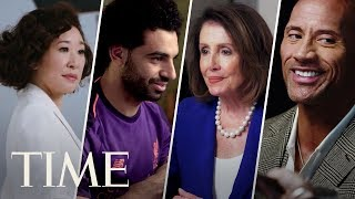 Inside TIME 100 Cover Shoots: Dwayne Johnson, Mohamed Salah, Sandra Oh, Nancy Pelosi & More | TIME
