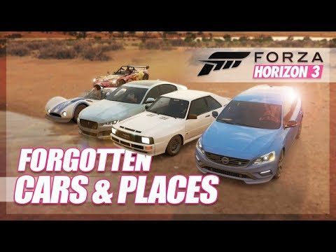 Forza Horizon 3 - We Revive Forgotten Cars & Places!