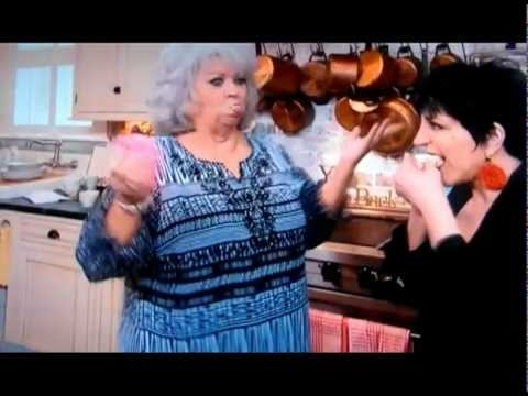 Liza Minnelli and Paula Deen