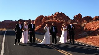 Emma & Andrew Get Married in the Valley of Fire, Las Vegas!