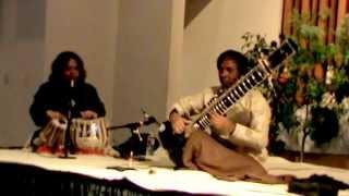 Hindole Majumdar(Tabla) in Concert with Living Legend Ustad Shahid Parvez Live at Sanfrancisco