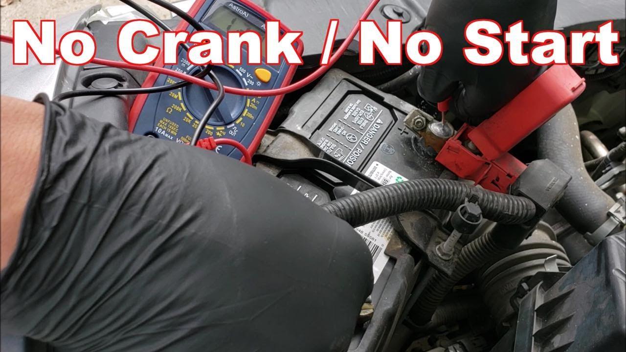 Engine Won T Start No Crank Diagnosis Honda Civic Troubleshoot Starting System Youtube