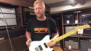 G&L Tribute Fallout BL - Spoiler: I love this guitar. #TGU18