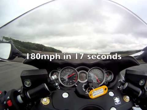 2013 Suzuki Hayabusa GSX1300R ABS top speed run