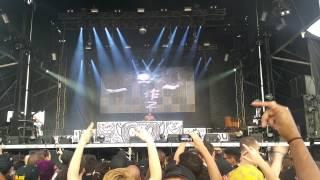 DJ Hi-Tek Of Die Antwoord (Mad Decent Block Party Brooklyn, NY) (August 8th, 2015)