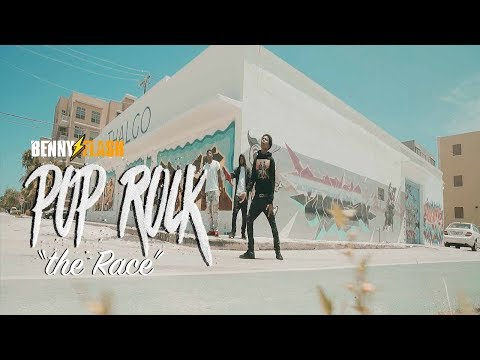 Pop Rock - The Race Freestyle (Official Video) | Directed By Benny Flash #FREETAYK