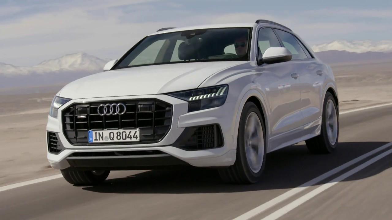 Audi Q8 Glacier White Is A Large Suv