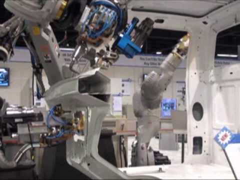 Motoman Robots at the International Robots & Vision Show