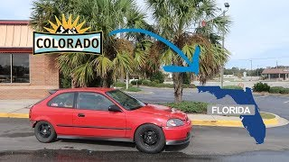 Driving a 700Hp Civic Across the Country!