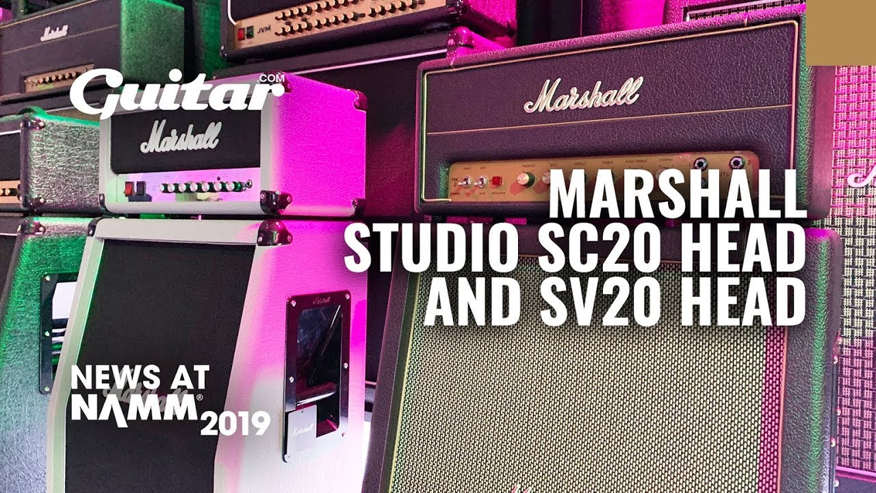 Review: Marshall Studio Series SV20H & SC20C