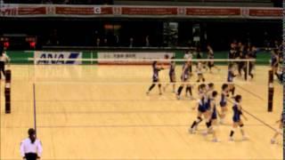 平成26年度(2014) 皇后杯全日本バレーボール選手権大会 2回戦 東レアロ...