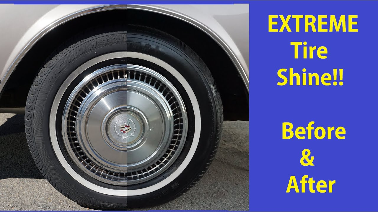 Car interior homemade cleaner - Tire Cleaning Video Diy Auto Detailing Renew Shine Show Cars Tires Tips